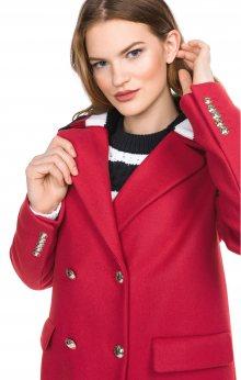 Clarissa Kabát Tommy Hilfiger   Červená   Dámské   M
