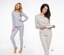 Dlouhé dámské pyžamo 2318 GALA S-XL 2019/2020 J béžová M