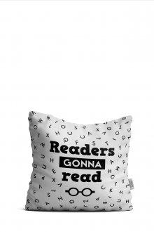 Polštář Readers Gonna Read