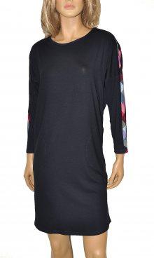 Dámská košile De Lafense Renee 353 7/8 tmavě modrá-růžová S