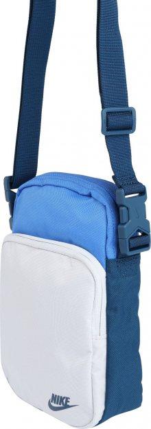 Nike Sportswear Taška přes rameno \'Heritage\' bílá / modrá