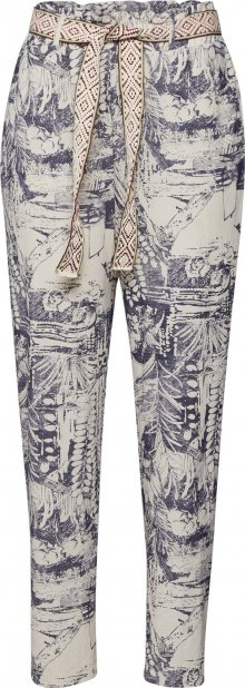 Desigual Chino kalhoty \'PANT_TROPICAL\' mix barev / offwhite