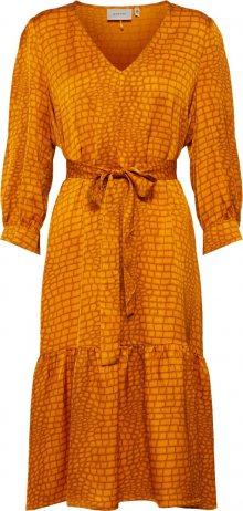 Gestuz Košilové šaty \'Tabby\' oranžová