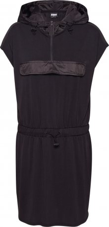 Urban Classics Šaty černá
