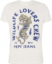 Pepe Jeans Tričko \'JETT\' offwhite
