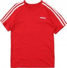 ADIDAS PERFORMANCE Funkční tričko \'YB E 3S TEE\' červená / bílá