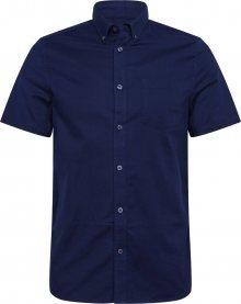 BURTON MENSWEAR LONDON Společenská košile \'Oxford\' námořnická modř