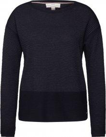ESPRIT Svetr \'OCS sweater ott\' černá / tmavě šedá