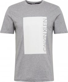 Calvin Klein Tričko šedá