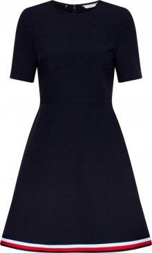 TOMMY HILFIGER Letní šaty \'Angela\' námořnická modř / bílá / červená