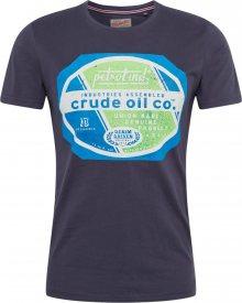 Petrol Industries Tričko čedičová šedá