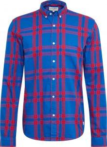 TOM TAILOR DENIM Košile červená / modrá