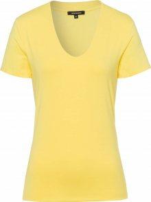 MORE & MORE Tričko světle žlutá