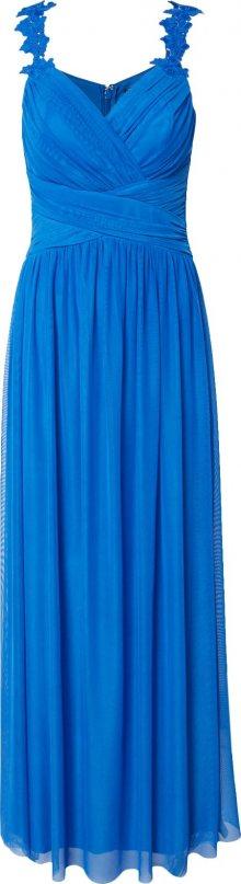 Lipsy Společenské šaty \'WS FLWR STRP MAXI\' modrá