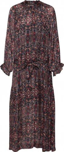 SECOND FEMALE Šaty \'Signe SS Maxi Dress\' černá