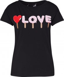 Love Moschino Tričko černá