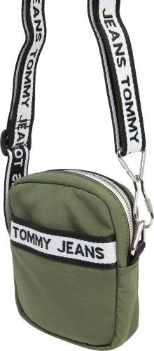 Tommy Jeans Taška přes rameno \'Reporter\' bílá / olivová