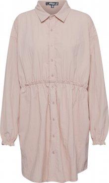 Missguided Košilové šaty růžová