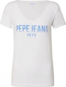 Pepe Jeans Tričko \'BLAKE\' bílá