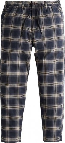 HOLLISTER Kalhoty \'PULLON CROP\' námořnická modř / béžová