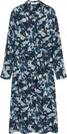 MANGO Košilové šaty \'Alexis\' modrá