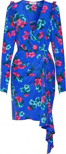 Essentiel Antwerp Šaty \'Viesbeth\' mix barev / modrá