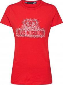 Love Moschino Top \'W4F7360E1698\' červená