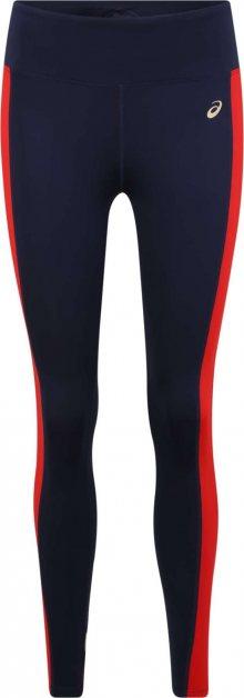 ASICS Sportovní kalhoty \'W TOKYO TRAIN TIGHT\' červená / tmavě modrá / bílá
