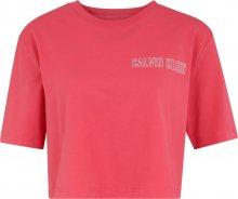 Calvin Klein Performance Funkční tričko červená