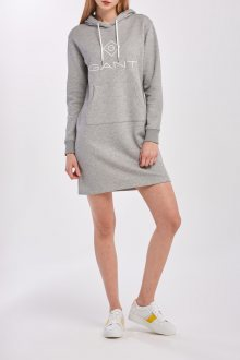 ŠATY GANT LOCK UP HOODIE DRESS