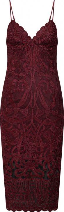 Bardot Koktejlové šaty \'GIA\' červená