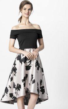 APART Společenské šaty pudrová / černá