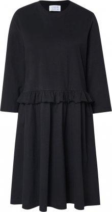 Libertine-Libertine Šaty \'CURL\' černá