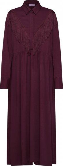 minimum Košilové šaty \'callana\' bordó