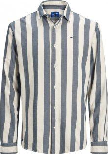 JACK & JONES Košile bílá / modrá