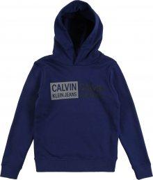 Calvin Klein Jeans Mikina modrá