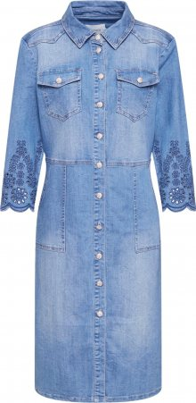 Cream Šaty \'Rosita\' světlemodrá / modrá džínovina