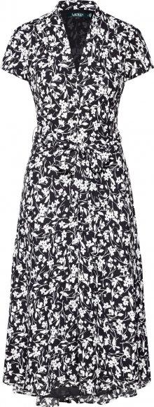 Lauren Ralph Lauren Šaty \'AMIT\' bílá / černá