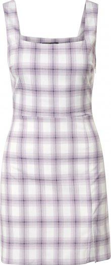 Fashion Union Šaty \'PINS\' bílá / fialová
