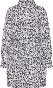 GLAMOROUS Košilové šaty bílá / černá