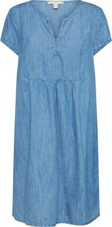 ESPRIT Šaty modrá džínovina / světlemodrá