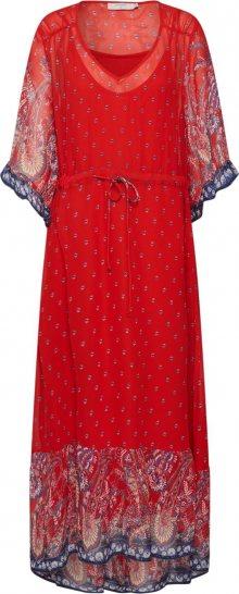 Cream Košilové šaty \'Nalita\' černá / červená