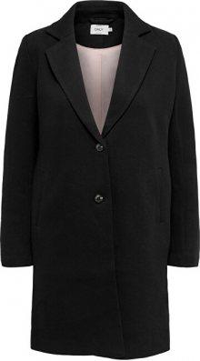 ONLY Dámský kabát ONLCARRIE LIFE MEL COAT OTW NOOS Black SOLID 36