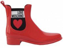 Love Moschino Dámské holínky Rosso JA21013G1A IS0 37