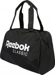 Reebok Classic Taška Weekender \'CL Core Duffle\' bílá / černá