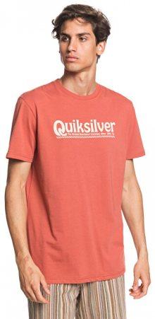 Quiksilver Pánské triko New Slang Ss Redwood EQYZT05754-MNL0 M