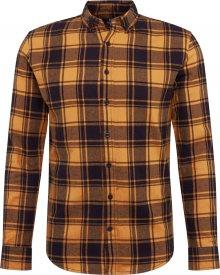 Denim Project Košile \'Check Shirt\' žlutá