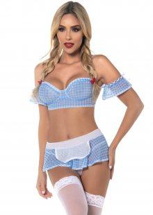 Sexy kostým Mapalé Dorothy 6394 M/L Sv. modrá