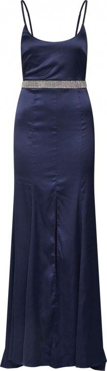 Missguided Společenské šaty \'SATIN DIAMANTE\' modrá