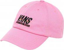 VANS Dámská kšiltovka WM Court Side Hat Fuchsia Pink/Sp VN0A31T6V5C1